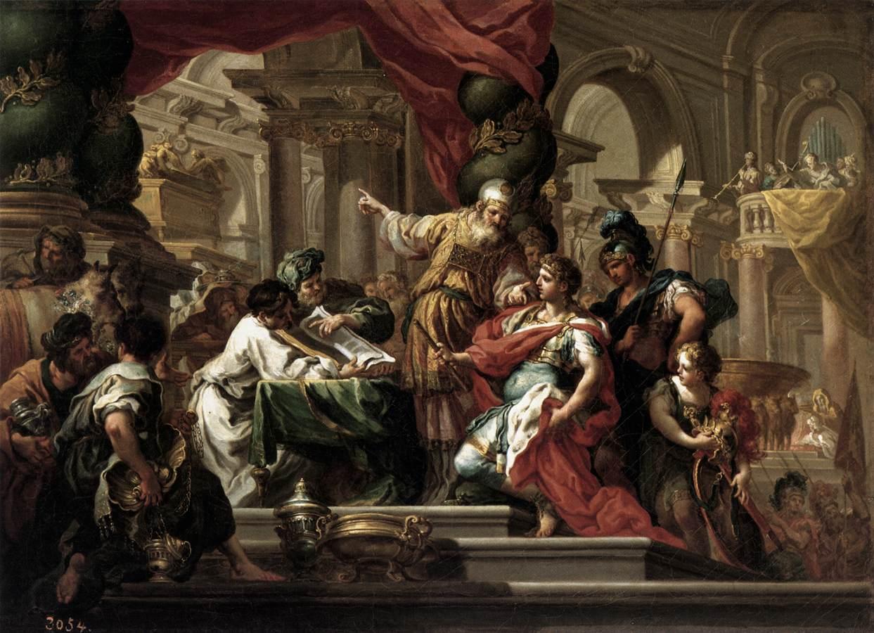 Alexander conquers Persia