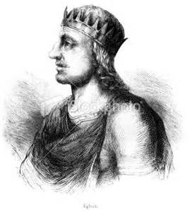 King Egbert (ca. 771-839)