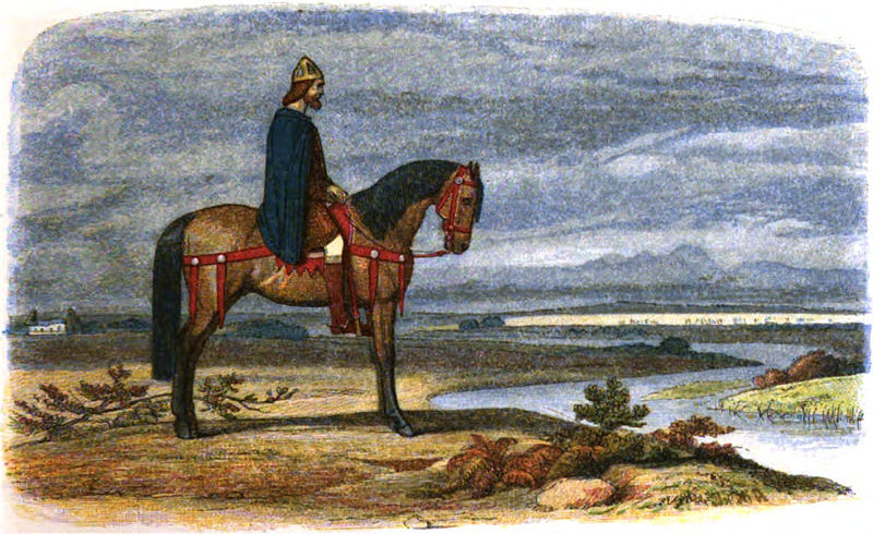 Alfred the Great (ca. 849-901)